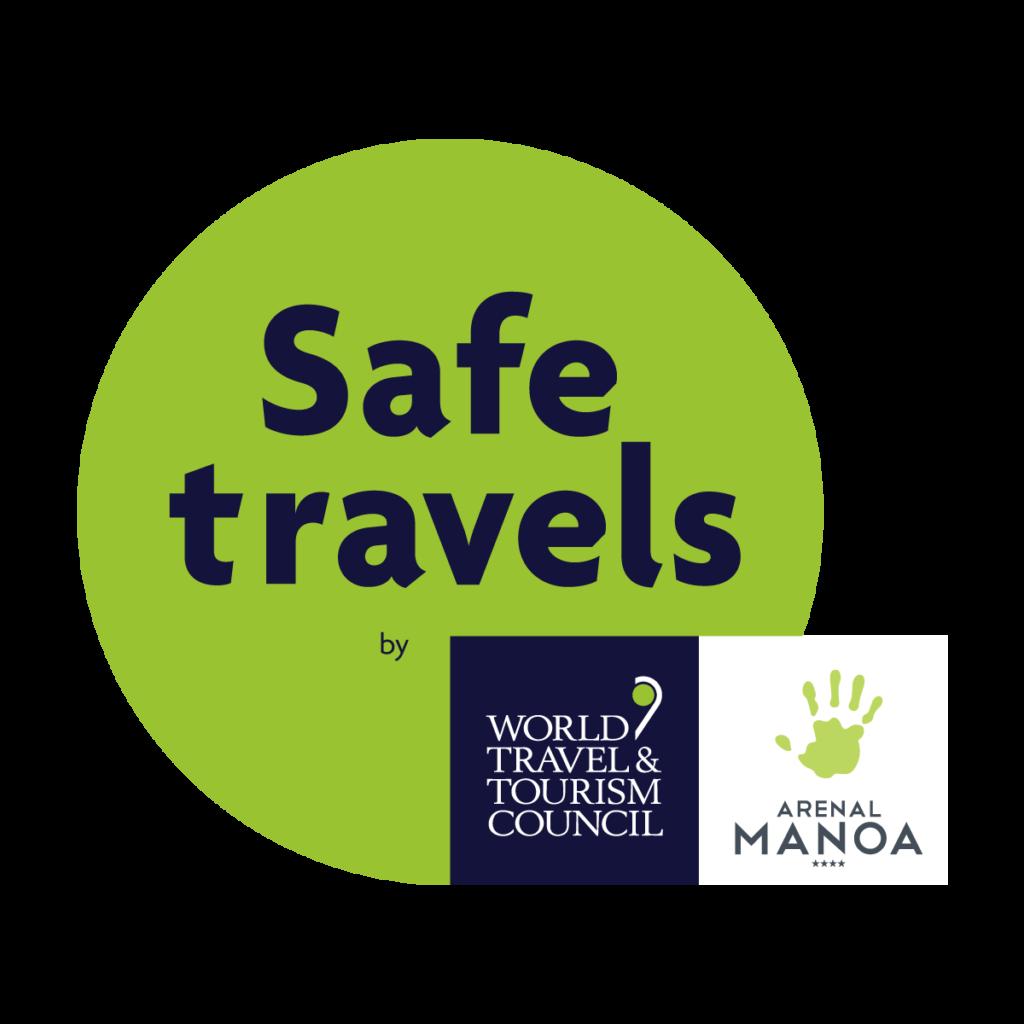 Safe Travels Certification Seal Logo